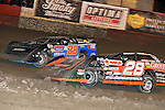 Feb 15, 2014; 9:03:24 PM; Gibsonton, FL., USA; The Lucas Oil Dirt Late Model Racing Series running The 38th Aannual WinterNationals at East Bay Raceway Park.  Mandatory Credit: (thesportswire.net)