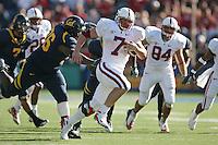 BERKELEY, CA - NOVEMBER 22:  Toby Gerhart of the Stanford Cardinal during Stanford's 37-16 Big Game loss to the California Golden Bears on November 22, 2008 at Memorial Stadium in Berkeley, California.