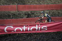 Jim Aernouts (BEL/Telenet-Fidea) <br /> <br /> Elite Men's Race<br /> Soudal Jaarmarktcross Niel 2016