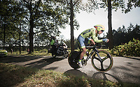 Peter Sagan (SVK/Tinkoff) racing in a regular team kit for once...<br /> <br /> 12th Eneco Tour 2016 (UCI World Tour)<br /> stage 2: Breda-Breda iTT (9.6km)