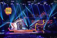 ATENCAO EDITOR: FOTO EMBARGADA PARA VEICULOS INTERNACIONAIS. - RIO DE JANEIRO, RJ,19 DE SETEMBRO 2012 - PREMIO MULTISHOW 2012- O ator Paulo Gustavo e Ivete Sangalo apresentam a cerimonia de entrega do Premio Multishow na noite desta terca dia 18 de setembro, no HSBC Arena, na Barra da Tijuca, zona oestedo Rio de Janeiro.(FOTO: MARCELO FONSECA / BRAZIL PHOTO PRESS).