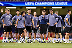 Players of Real Madrid during the training session ahead the UEFA Champions League Final between Real Madrid and Juventus at the National Stadium of Wales, Cardiff, Wales on 2 June 2017. Photo by Giuseppe Maffia<br /> Giuseppe Maffia/UK Sports Pics Ltd/Alterphotos