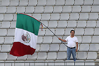 One Mexican fan made the journey during Republic Of Ireland Under-21 vs Mexico Under-21, Tournoi Maurice Revello Football at Stade Parsemain on 6th June 2019