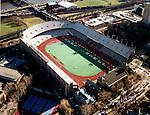 Aerial photograph of the University of Pennsylvania football stadium