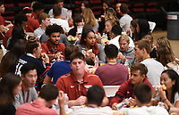 Stanford, Ca - September 18, 2019: The Stanford Cardinal New Student-Athlete & Family Welcome 2019 at Maples Pavilion.