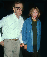 Woody Allen Mia Farrow, 1993, Photo By Michael Ferguson/PHOTOlink