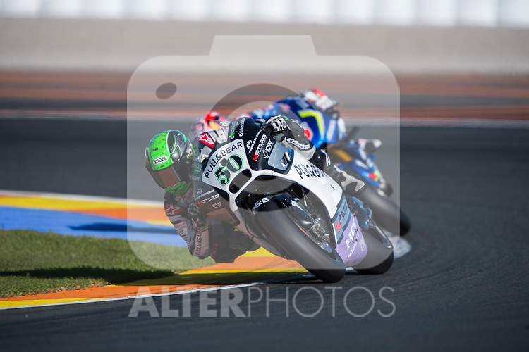 VALENCIA, SPAIN - NOVEMBER 11: Eugene Laverty during Valencia MotoGP 2016 at Ricardo Tormo Circuit on November 11, 2016 in Valencia, Spain