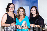 Bridget Riordan, Mary Kerin and Kiara Cahill Templeglantine at the fashion show in the Muckross Park hotel in aid of Crumlin hospital