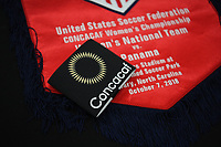 Cary, N.C. -  Sunday October 7, 2018: The women's national teams of the United States (USA) and Panama (PAN) play in a 2018 CONCACAF Women's Championship game at Sahlen's Stadium at WakeMed Soccer Park.