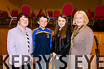 Pictured at the County Finals of Scor Sinsear held in Brosna on Saturday was L-R: Eileen and Michael Aherne, Niamh and Ella Clifford representing Spa Club.