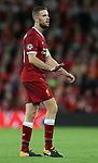Jordan Henderson of Liverpool during the Champions League playoff round at the Anfield Stadium, Liverpool. Picture date 23rd August 2017. Picture credit should read: Lynne Cameron/Sportimage