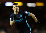 Sergio Aguero of Manchester City - English Premier League - Liverpool vs Manchester City - Anfield Stadium - Liverpool - England - 3rd March 2016 - Picture Simon Bellis/Sportimage