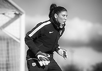 Frisco, TX - February 6, 2016: The USWNT trains in preparation for the CONCACAF Women's Olympic Qualifying Tournament.