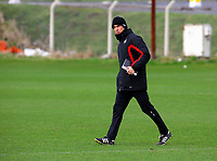 Pictured: Manager Paulo Sousa. Thursday 01 April 2010<br /> Re: Swansea City Football Club training at Llandarcy near near Swansea south Wales ahead of their clash against Cardiff on Saturday.