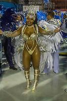 RIO DE JANEIRO (RJ) 29.02.2020 - Carnaval - Rio Escola de samba Beija -Flor no desfile das campeas das escolas de samba do Grupo Especial do Rio de Janeiro neste sabado (29) na Marquues de Sapucai. Rainha de bateria Raissa de Oliveira. (Foto: Ellan Lustosa/Codigo 19/Codigo 19)
