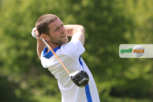 Michael Reid (Galgorm Castle) on the 15th tee during Round 4 of the Ulster Stroke Play Championships at Galgorm Castle Golf Club, Ballymena, Northern Ireland. 28/05/19<br /> <br /> Picture: Thos Caffrey / Golffile<br /> <br /> All photos usage must carry mandatory copyright credit (© Golffile | Thos Caffrey)