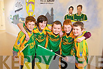Rory McAulliffe, Darragh Shannon, Gavin Leen, Jack Leen and David Allen, pupils at Scoil Mhuire de Lourdes Boys School in Lixnaw getting ready for the Intermediate All Ireland Final between Finuge and Cookstown which takes place at Croke Park on Saturday evening.