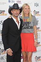 LOS ANGELES, CA - SEPTEMBER 07: Tim McGraw and Gwyneth Paltrow at the Stand Up To Cancer benefit at The Shrine Auditorium on September 7, 2012 in Los Angeles, California. Credit: mpi27/MediaPunch Inc. /NortePhoto.com<br /> <br /> **CREDITO*OBLIGATORIO** *No*Venta*A*Terceros*<br /> *No*Sale*So*third*...