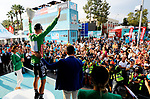 Sam Bennett (IRL) Bora-Hansgrohe wins Stage 3 of the 54th Presidential Tour of Turkey 2018, running 132.7km from Fethiye to Marmaris, Turkey. 11th October 2018.<br /> Picture: Brian Hodes/VeloImages | Cyclefile<br /> <br /> <br /> All photos usage must carry mandatory copyright credit (&copy; Cyclefile | Brian Hodes/VeloImages)