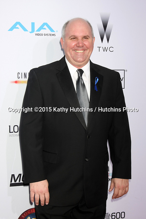 LOS ANGELES - FEB 8:  James DuMont at the 2015 Society Of Camera Operators Lifetime Achievement Awards at a Paramount Theater on February 8, 2015 in Los Angeles, CA