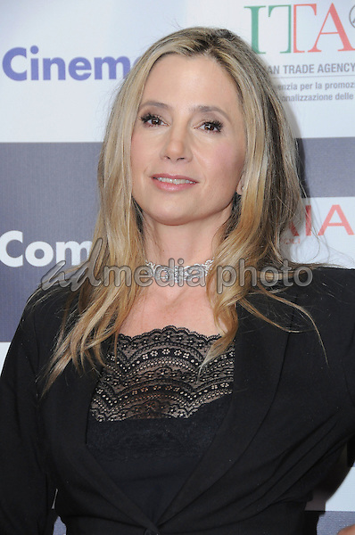 19 February 2017 - Hollywood, California - Mira Sorvino.  12th Annual Los Angeles - Italia Film Festival held at TCL Chinese 6 Theater. Photo Credit: Birdie Thompson/AdMedia