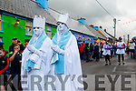 Angels appearing in Cloghane for the parade
