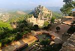 Moorish pool at Castle of Xàtiva or Jativa, Valencia province, Spain