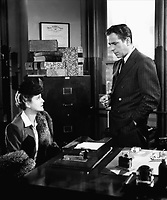 The Maltese Falcon (1941)<br /> Humphrey Bogart &amp; Mary Astor<br /> *Filmstill - Editorial Use Only*<br /> CAP/KFS<br /> Image supplied by Capital Pictures