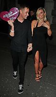 guest and Billie Faiers at the In The Style TOTES OVER IT Valentine's Party, Libertine, Winsley Street, London, England, UK, on Thursday 08 February 2018.<br /> CAP/CAN<br /> &copy;CAN/Capital Pictures