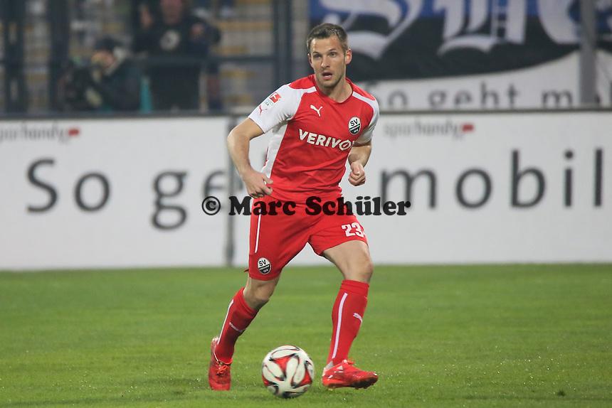 Kevin Kratz (SVS) - FSV Frankfurt vs. 1. FC Kaiserslautern, Frankfurter Volksbank Stadion