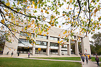 Parks Library on the campus of Iowa State University in Ames, Iowa. (Christopher Gannon/Gannon Visuals)