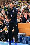 09.11.2019, Hansehalle Luebeck, GER,  2.Bundesliga Handball VfL Luebeck-Schwartau - TV Emsdetten<br /> <br /> im Bild / picture shows<br /> Trainer Piotr Przybecki VfL Luebeck-Schwartau<br /> <br /> Foto © nordphoto / Tauchnitz