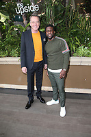 "30 October 2018 - Beverly Hills, California - Bryan Cranston, Kevin Hart. ""The Upside"" Photo Call held at The Four Seasons Beverly Hills. Photo Credit: Faye Sadou/AdMedia"