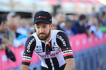 Simon Geschke (GER) Team Sunweb at the Team Presentation in Alghero, Sardinia for the 100th edition of the Giro d'Italia 2017, Sardinia, Italy. 4th May 2017.<br /> Picture: Eoin Clarke | Cyclefile<br /> <br /> <br /> All photos usage must carry mandatory copyright credit (&copy; Cyclefile | Eoin Clarke)