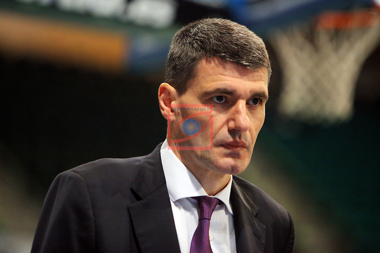 League ACB-Endesa 2015-2016. Game: 16.<br /> FIATC Joventut vs Laboral Kutxa Baskonia: 68-89.<br /> Perasovic.