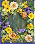 Interlitho, FLOWERS, BLUMEN, FLORES, photos+++++,colorful flower wreath,KL16429,#f#