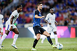 FC Internazionale Midfielder Roberto Gagliardini (R) plays against Chelsea Forward Michy Batshuayi (L) during the International Champions Cup 2017 match between FC Internazionale and Chelsea FC on July 29, 2017 in Singapore. Photo by Marcio Rodrigo Machado / Power Sport Images