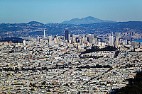 aerial photograph residential neighborhoods San Francisco California