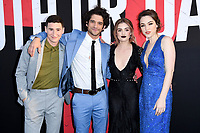 12 April 2018 - Hollywood, California - Sam Lerner, Tyler Posey, Lucy Hale, Violett Beane. &quot;Truth or Dare&quot; Los Angeles Premiere held at Arclight Hollywood. <br /> CAP/ADM/BT<br /> &copy;BT/ADM/Capital Pictures