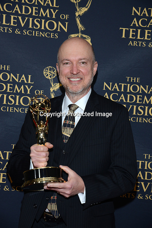 Y and  R Ray Thompson attends the Daytime Emmy Creative Arts Awards Press Room on April 24, 2015 at the Universal l Hilton in Universal City,<br /> California, USA.