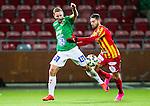S&ouml;dert&auml;lje 2015-10-05 Fotboll Superettan Syrianska FC - J&ouml;nk&ouml;pings S&ouml;dra :  <br /> J&ouml;nk&ouml;ping S&ouml;dras Fredrik Olsson i aktion under matchen mellan Syrianska FC och J&ouml;nk&ouml;pings S&ouml;dra <br /> (Foto: Kenta J&ouml;nsson) Nyckelord:  Syrianska SFC S&ouml;dert&auml;lje Fotbollsarena J&ouml;nk&ouml;ping S&ouml;dra J-S&ouml;dra