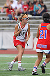 Redondo Beach, CA 05/14/11 - Allison Field (Redondo Union #14)in action during the 2011 US Lacrosse / CIF Southern Section Division 1 Girls Varsity Lacrosse Championship, Los Alamitos defeated Redondo Union 17-5.