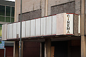 Empty cinema in the centre of Doncaster.