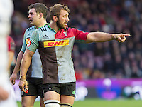 Chris Robshaw, Harlequins v Cardiff Blues in a European Challenge Cup match at Twickenham Stoop, Twickenham, London, England, on 17th January 2016