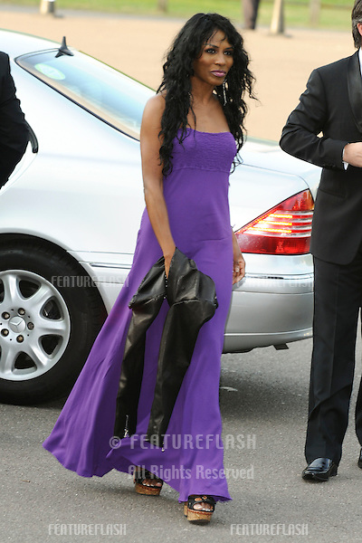Singer, Sinitta arrives for the Butterfly Ball at Battersea Evolution, London.  21/05/2010  Picture by Steve Vas/Featureflash