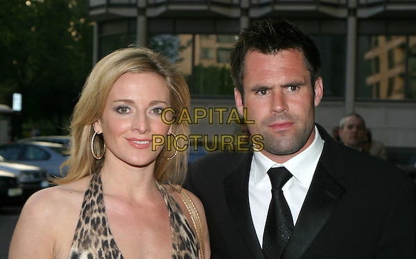 GABY LOGAN & KENNY LOGAN.Tommy's Sports Ball.May 18th, 2004.headshot, portrait.www.capitalpictures.com.sales@capitalpictures.com.© Capital Pictures.