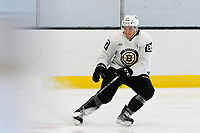 June 26, 2018: Boston Bruins defenseman Philip Beaulieu (87)  skates during the Boston Bruins development camp held at Warrior Ice Arena in Brighton Mass. Eric Canha/CSM