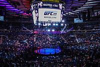 NOVA YORK, EUA, 02.11.2019 - UFC-NOVA YORK -  UFC 244 no Madison Square Garden na cidade de Nova York neste sábado, 02. (Foto: Vanessa Carvalho/Brazil Photo Press/Folhapress)