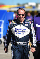 Feb 10, 2008; Daytona Beach, FL, USA; Nascar Sprint Cup Series driver Ken Schrader during qualifying for the Daytona 500 at Daytona International Speedway. Mandatory Credit: Mark J. Rebilas-US PRESSWIRE