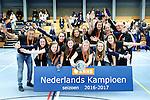 SCHIEDAM - NK reserveteams zaalhockey. Finale Tilburg D2-HDM D2 (1-3) . HDM is de nieuwe Nederlands Kampioen.    COPYRIGHT KOEN SUYK